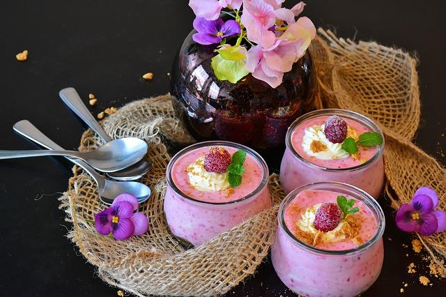 ovocné jogurty