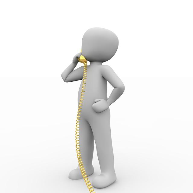telefonování po drátě
