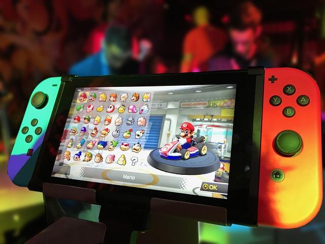 zapnuté Nintendo