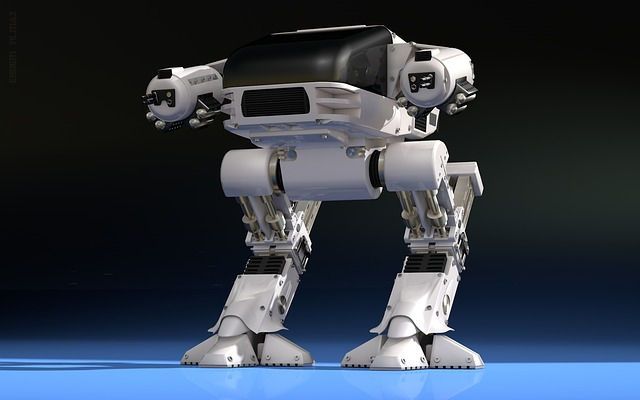 mechanický robot