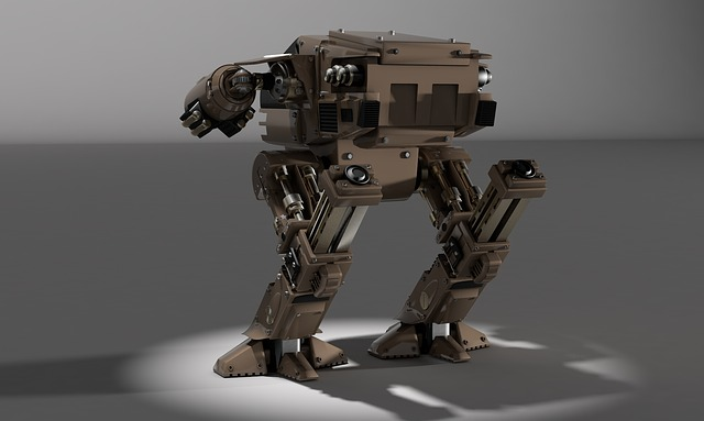 robotický stroj