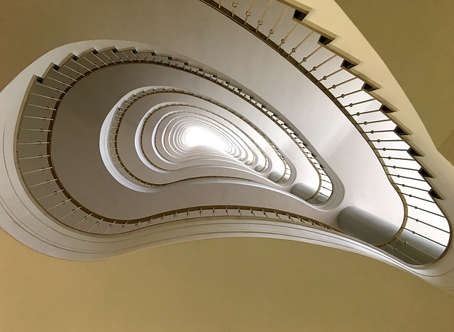 zábradlí na schodek
